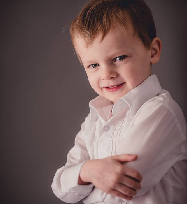 4 Year Milestone - St. Louis Children Photographer