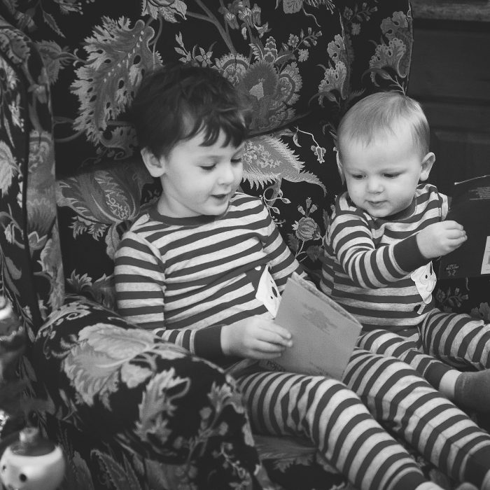 Christmas Portraits at Nana & Papa's