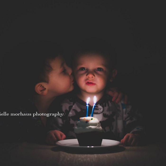 Candles & Cupcakes - Birthday Photos