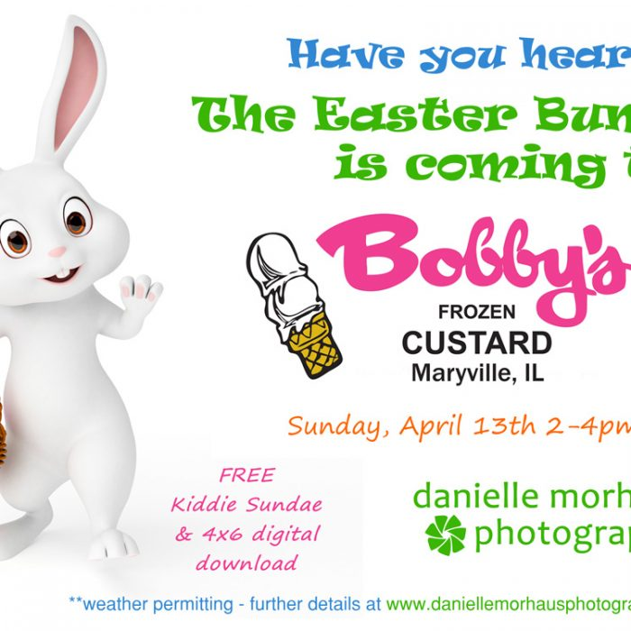 Easter Bunny Pictures at Bobby's Frozen Custard