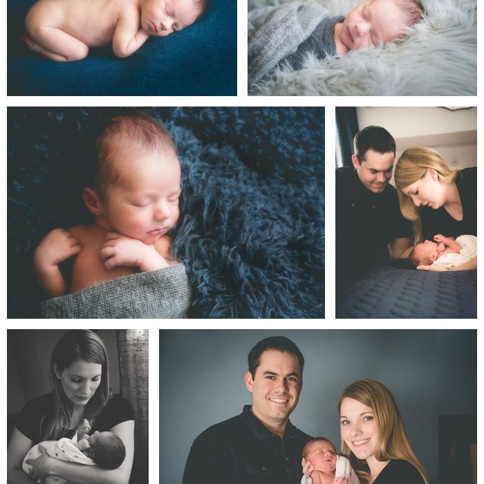 Newborn Photography Session - Little Baby L