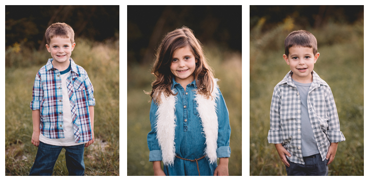 fall children portraits