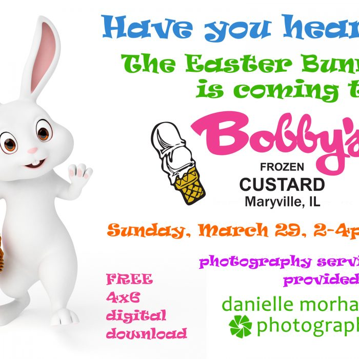 2nd Annual Easter Bunny Pictures at Bobby's Frozen Custard