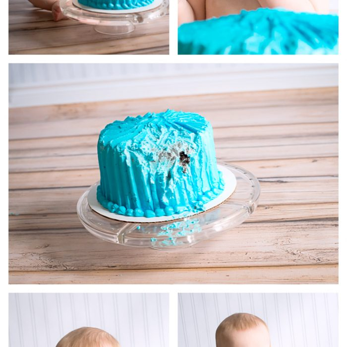 Happy Birthday Little Man! Cake Smash