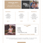 St. Louis Family Photographer Pricing