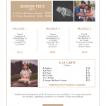St. Louis Newborn Photographer Pricing