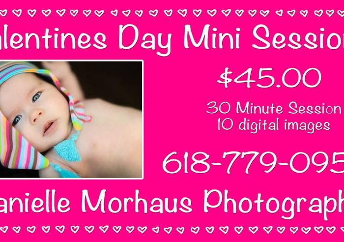 Valentines Day Mini Sessions